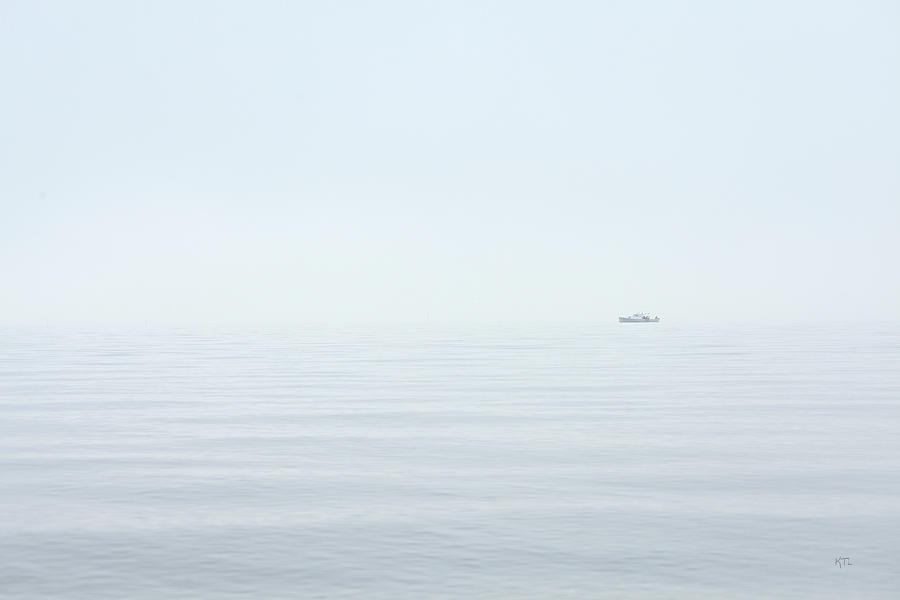 Coastal Photograph - Almost Invisible by Karol Livote
