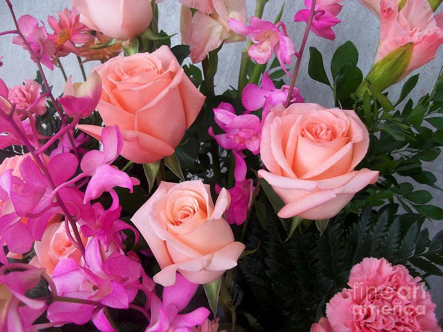 Almost Pink Flowers Photograph by Vladimir Berrio Lemm