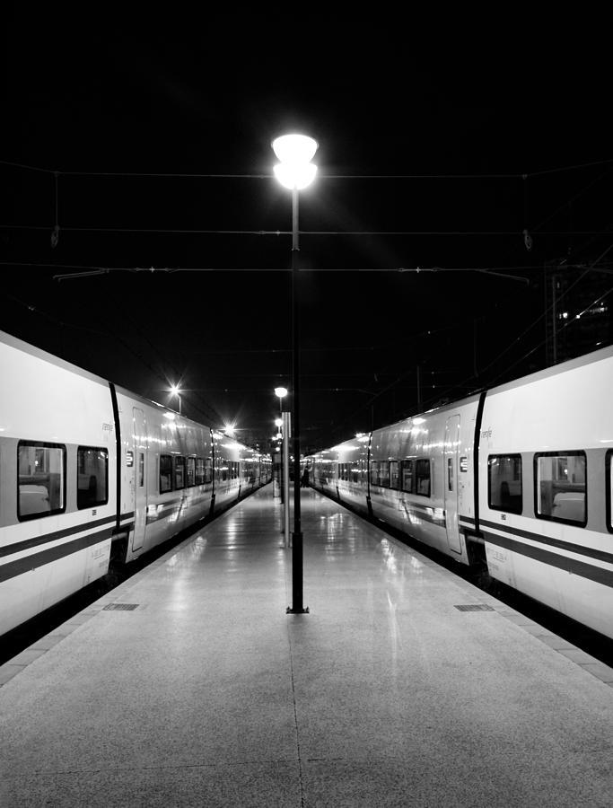 Alicante Photograph - Almost Symmetry by Pedro Fernandez