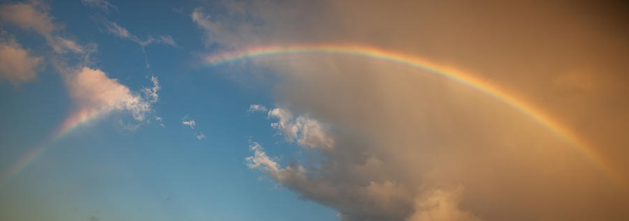 Rainbow Photograph - Almost There by Tony Santo