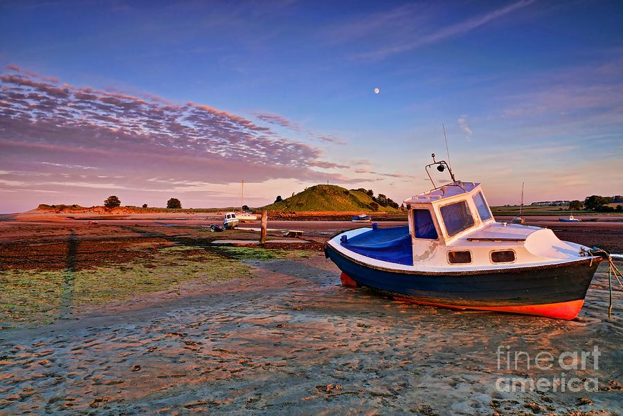 Alnmouth at Sunset by Les Bell