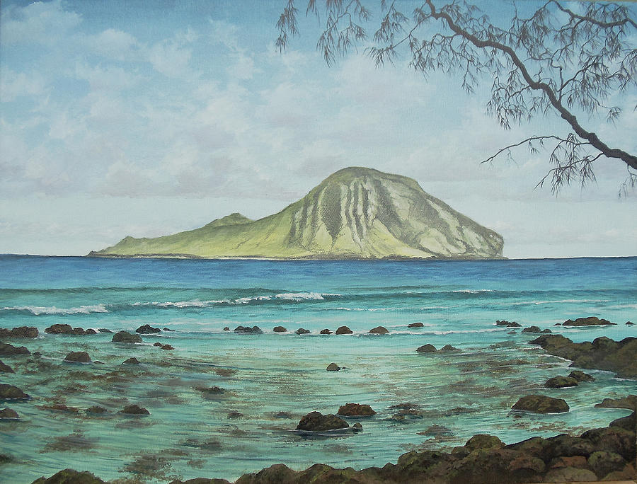 Manana Painting - Aloha Kakahiaka Manana by Wallace Kong
