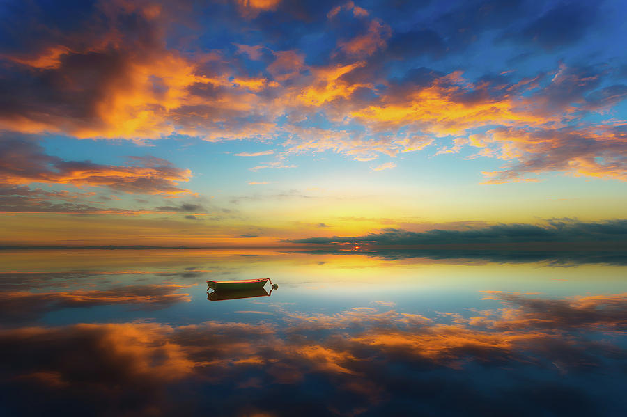 Bax Photograph - Alone In A Colorful World by Piotr Krol (bax)