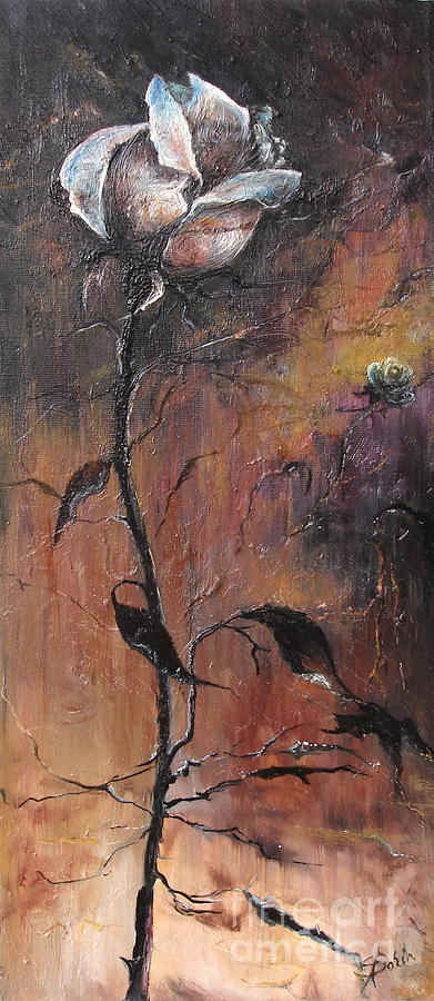 Alone In The Night Painting