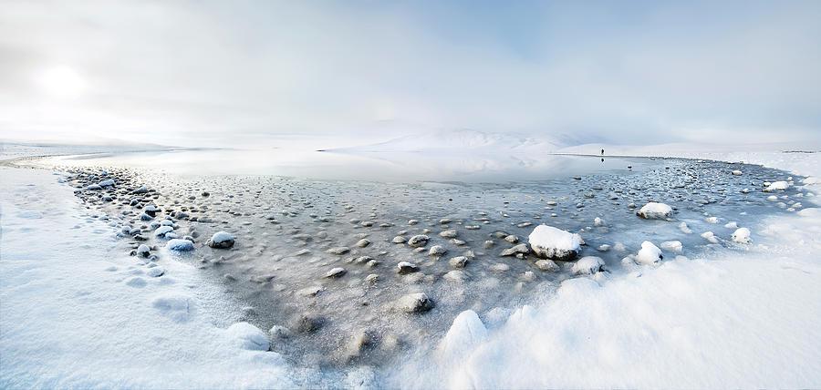 Landscape Photograph - Alone In The Silence by Nicola Molteni