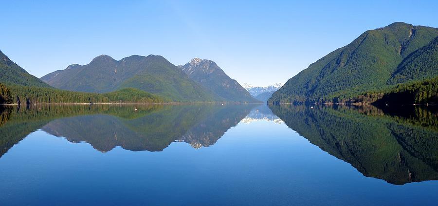 Alouette Lake Mirrored - Golden Ears Prov. Park, Maple Ridge, British Columbia Photograph