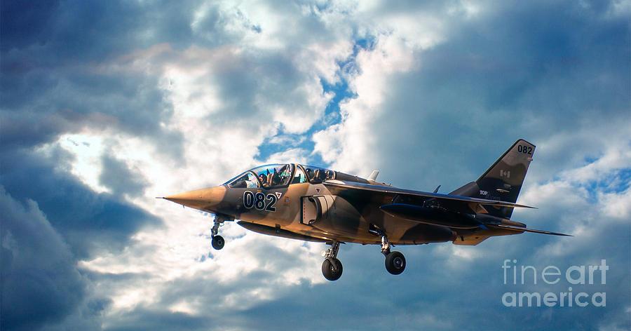 Alpha Jet Photograph - Alpha Jet 082 by Bianca Nadeau