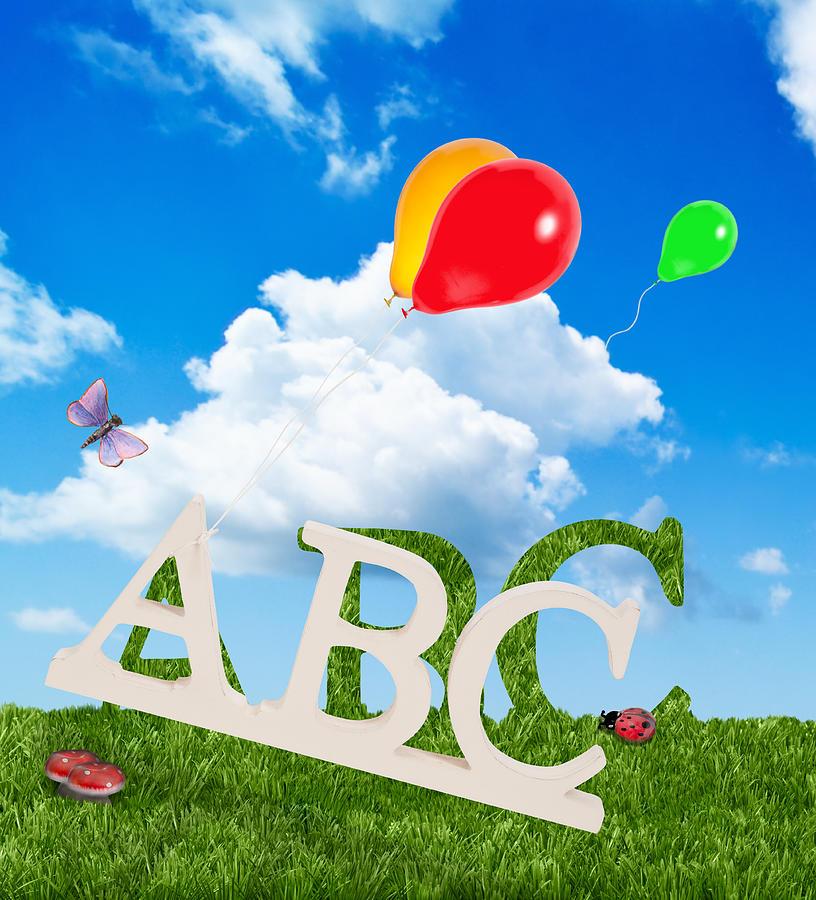 Abc Photograph - Alphabet Letters by Amanda Elwell