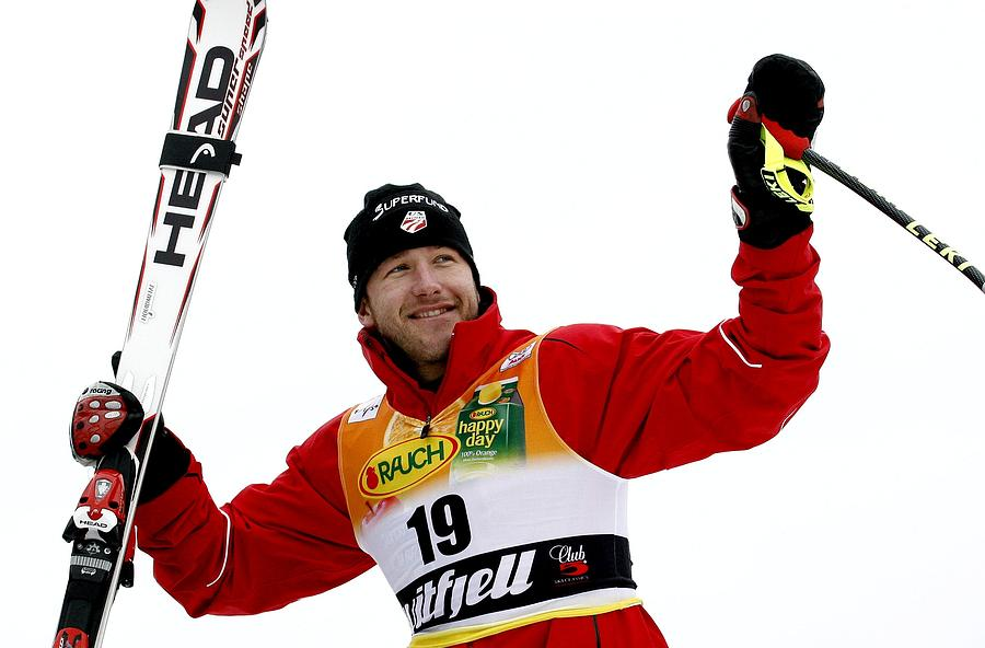 Alpine FIS Ski World Cup - Mens Downhill Photograph by Agence Zoom