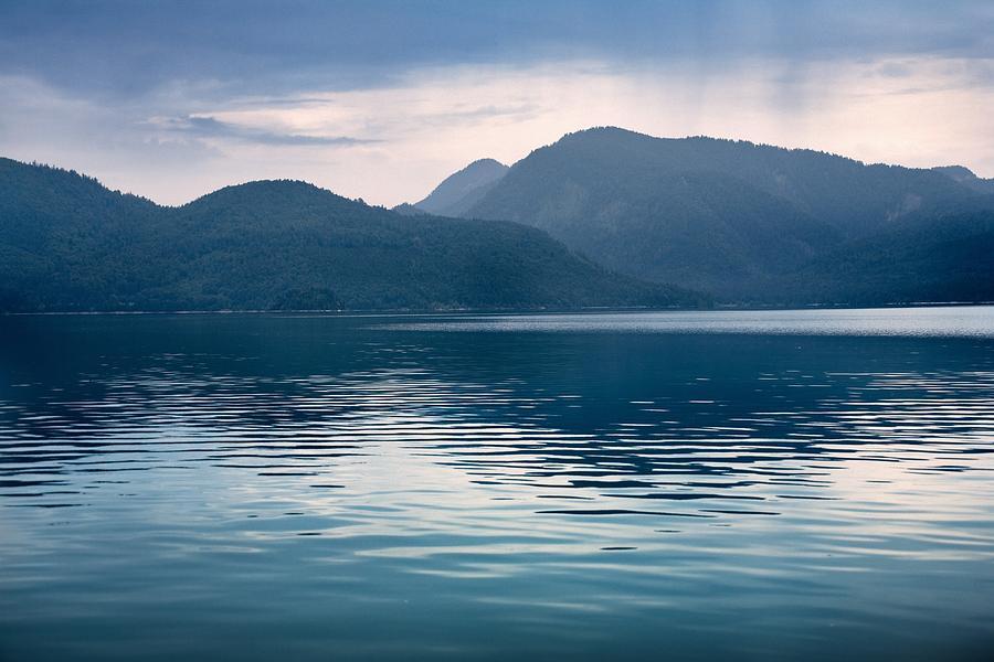 Walchensee Photograph - Alpine Lake by Bjoern Kindler