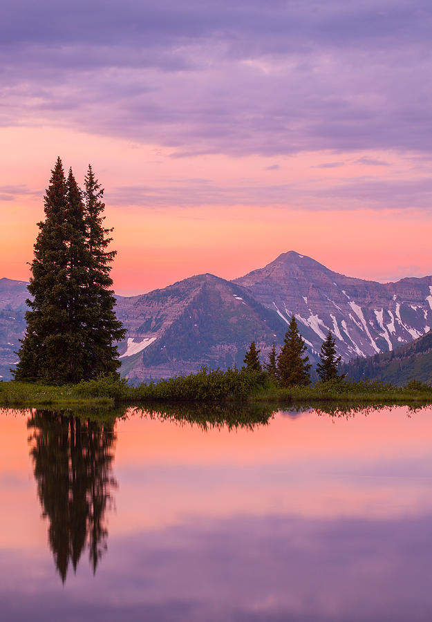 Alpine Sunrise Photograph