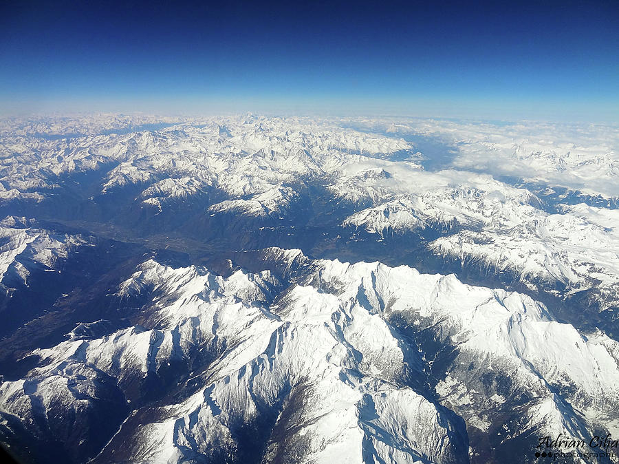 Alps Photograph by Adrian Cilia Photography