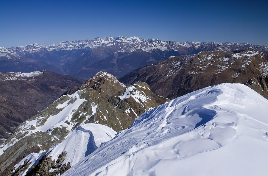 Adventure Photograph - Alps mountains view by Ioan Panaite