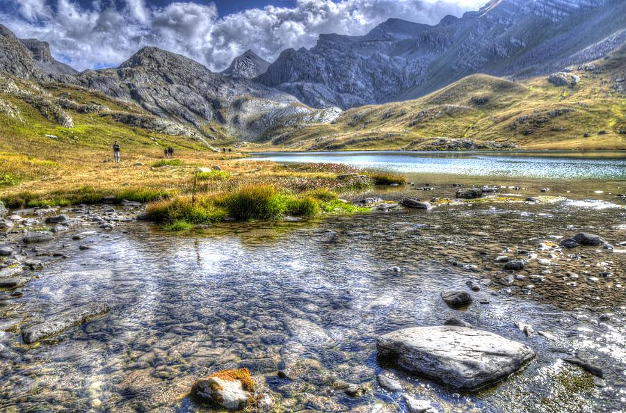 Clouds Photograph - Alps Southern France by Seruddin Salleh