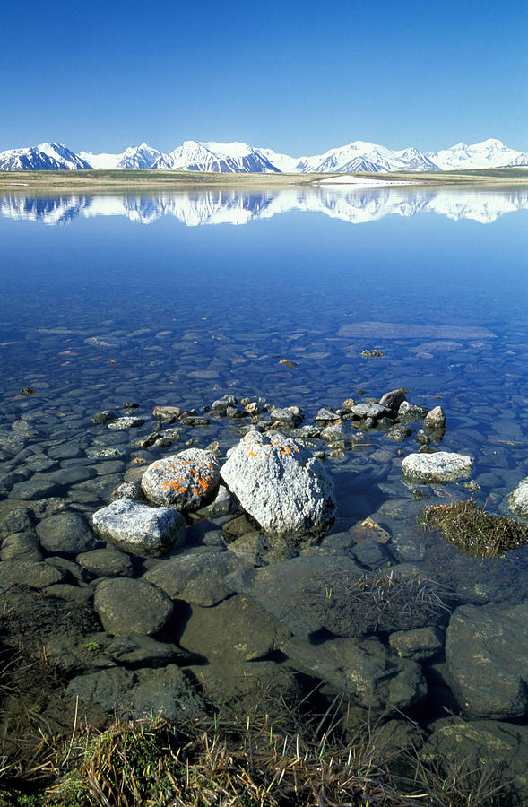 Hills Photograph - Altai by Anonymous
