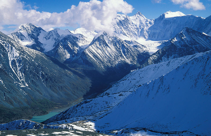 Altai Mountains Photograph by Anonymous