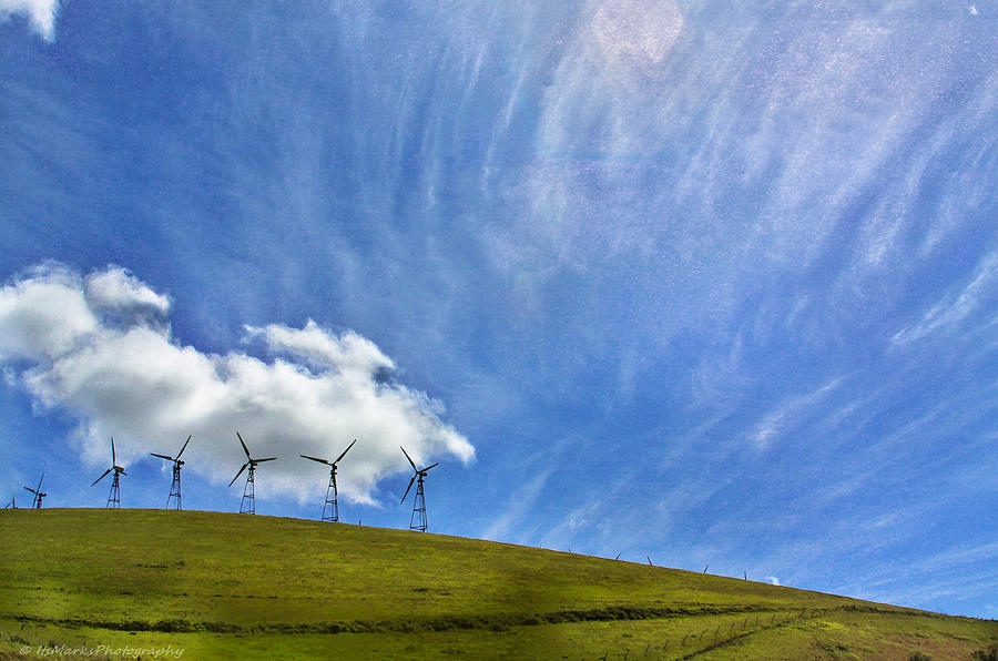 Altamont Windmills by Mark Robert Bein