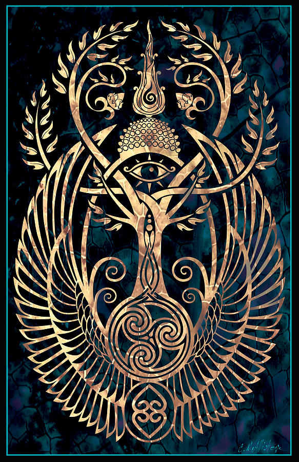 Spirituality Digital Art - Altar #1 by Cristina McAllister