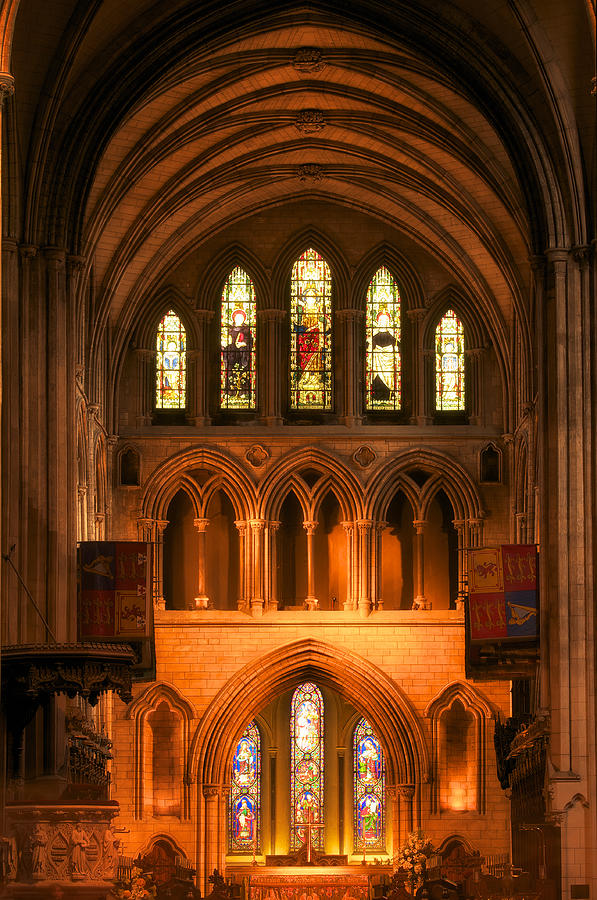 Altar of St. Patrick's Cathedral by Photography  By Sai