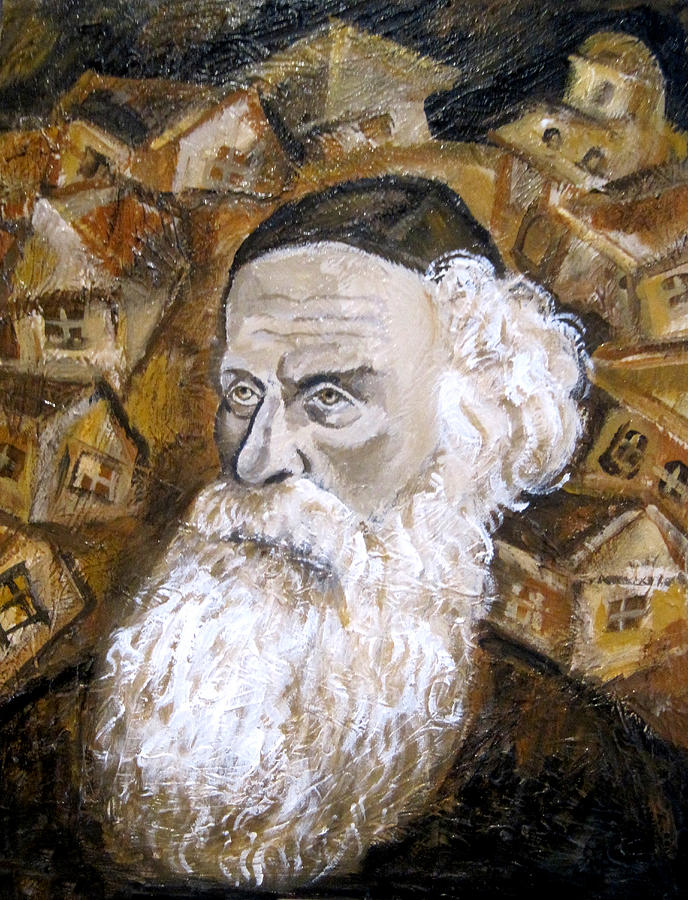 Jewish Painting - Alter Rebbe by Leon Zernitsky