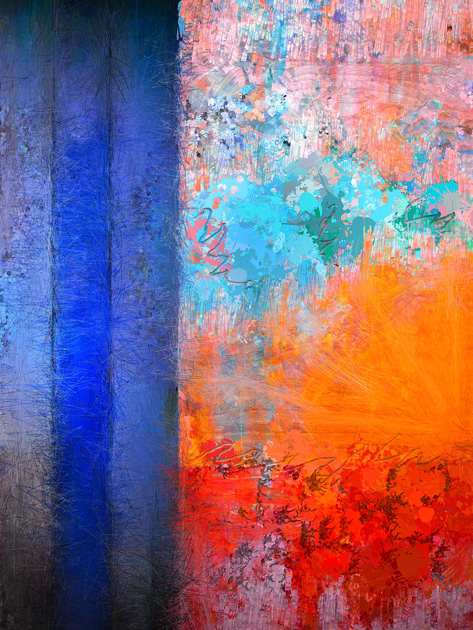 Abstract Photograph - Alternate Sunrise by Skip Hunt