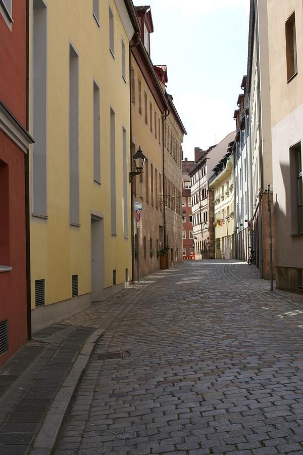 Cobblestone Photograph - Altstadt Nuernberg by Heidi Poulin