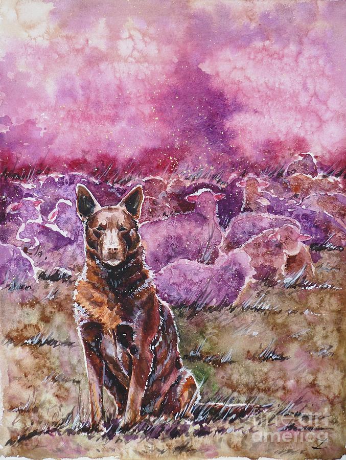 Australia Painting - Always On Duty by Zaira Dzhaubaeva