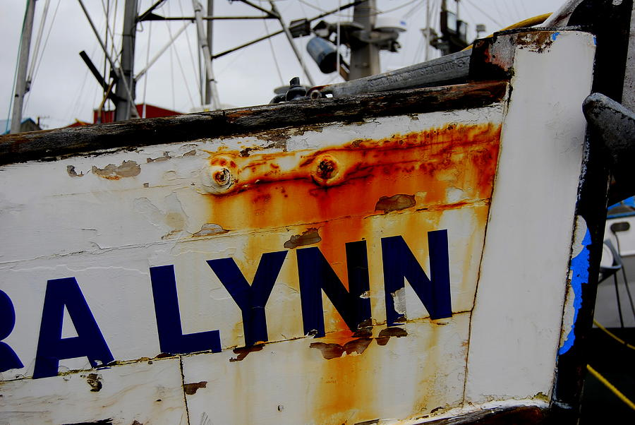 Fishing Boat Photograph - Alynn by Mamie Gunning
