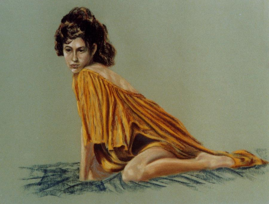 Nude Painting - Alyson Dreaming by John Entrekin