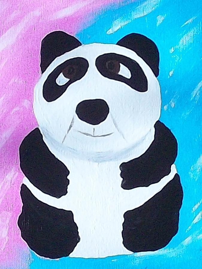 Alyssas Bear Painting
