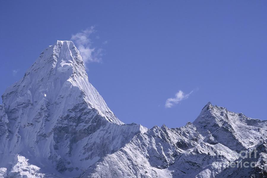 Landscape Photograph - Ama Dablam Nepal by Rudi Prott