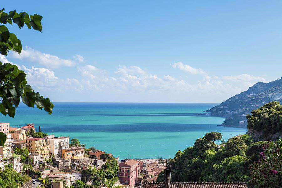 Amalfi Coast Landscape Vietri Village Photograph by Angelafoto