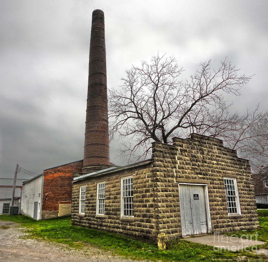 Amana Colonies Old Brewery Photograph - Amana Colonies Old Brewery - 01 by Gregory Dyer