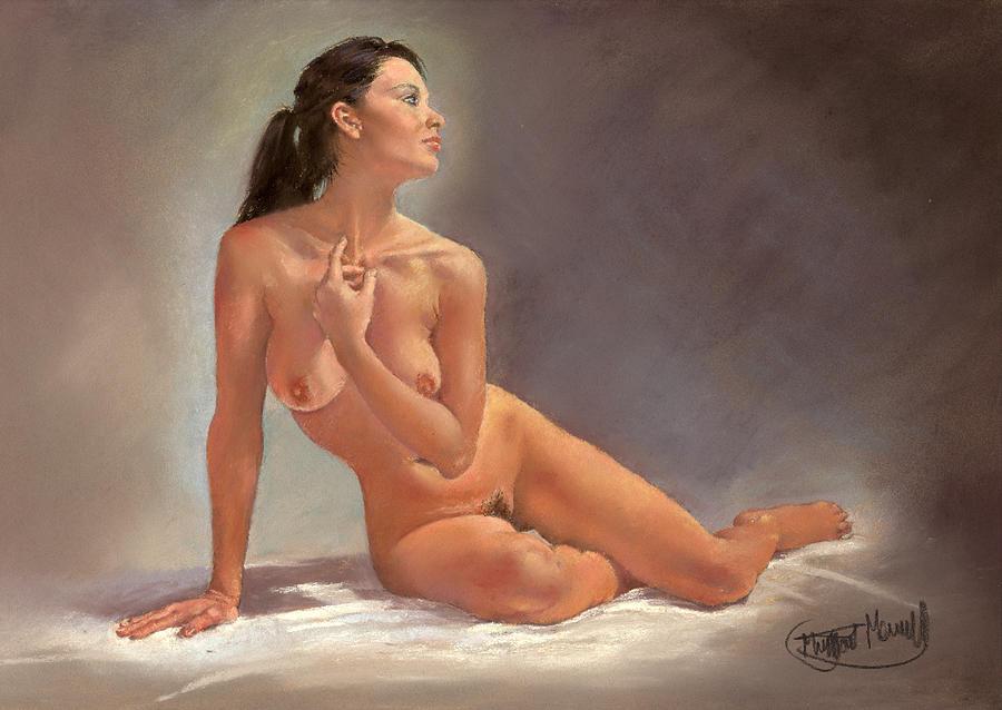 Amanda Painting by Margaret Merry