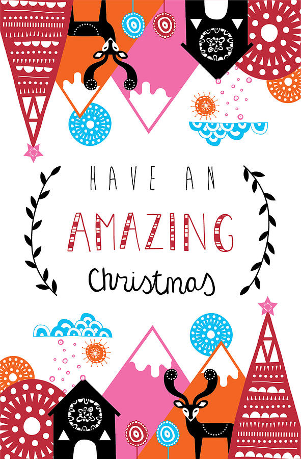 Susan Claire Photograph - Amazing Christmas by MGL Meiklejohn Graphics Licensing