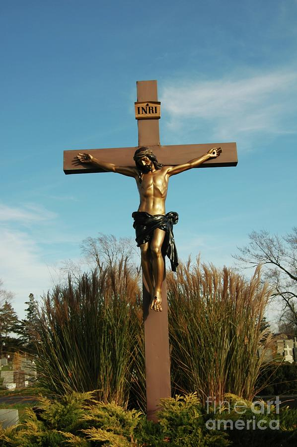 Jesus Photograph - Amazing Love by Kathleen Struckle