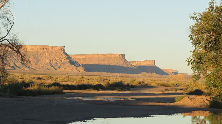 Landscape Photograph - Amazing Mesas by Diane Mitchell
