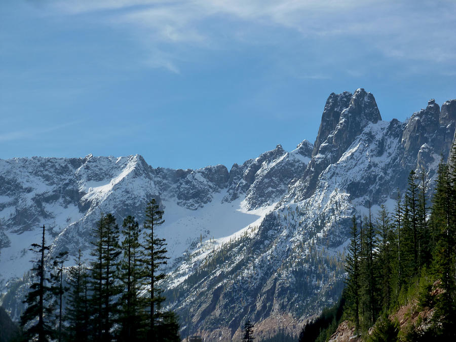 Granite Photograph - Amazing Peaks by Christine Burdine
