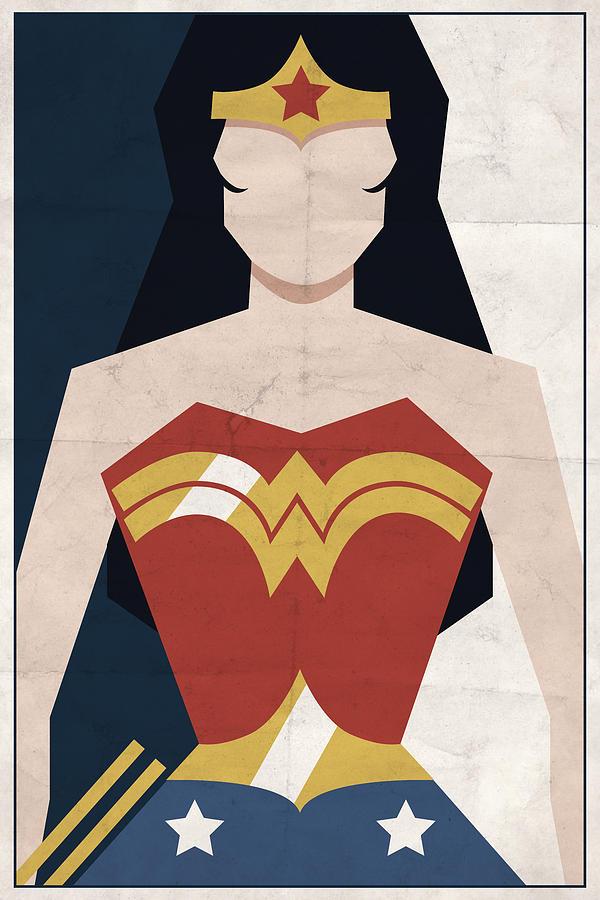 Comics Digital Art - Amazon Princess by Michael Myers