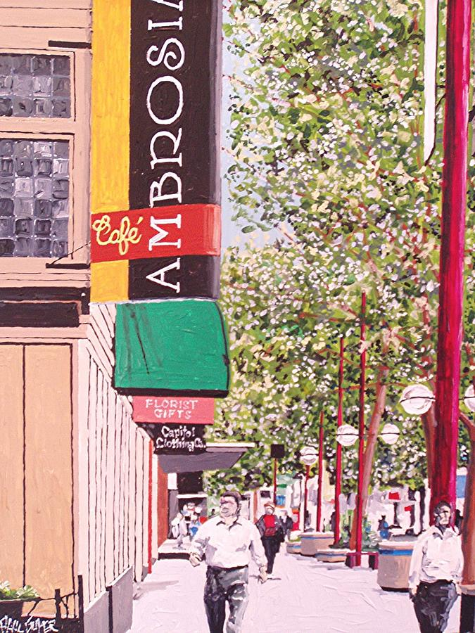 Sacramento Painting - Ambrosia At Eleventh And K by Paul Guyer