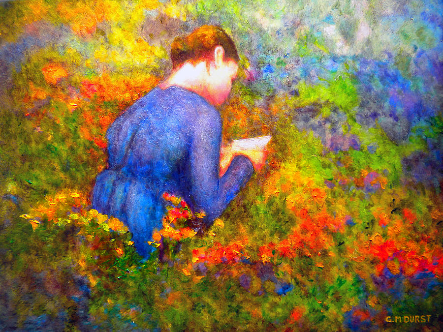 Impressionism Painting - Ambrosias Love Letter by Michael Durst