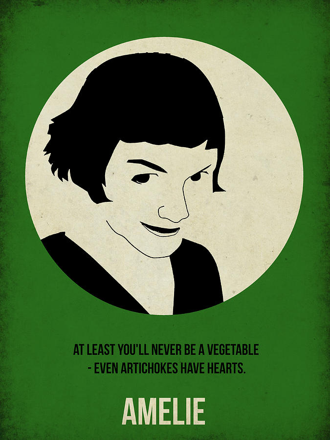 Amelie Painting - Amelie Poster by Naxart Studio