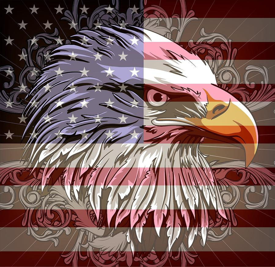 America The Beautiful Digital Art by Stanley Mathis