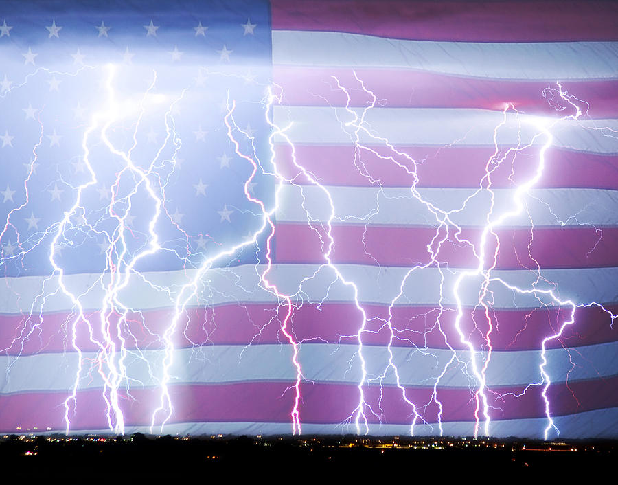 United States Photograph - America The Powerful by James BO  Insogna
