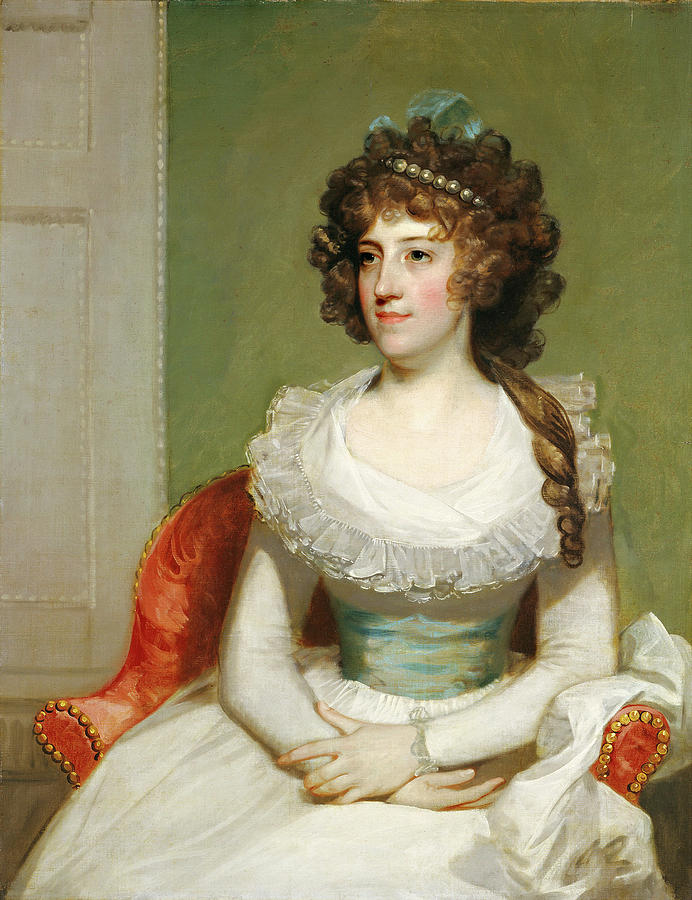 1795 Painting - American 18th Century, Matilda Caroline Cruger by Litz Collection