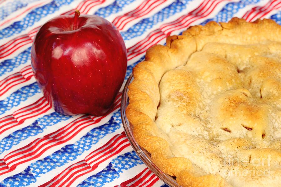Pie Photograph - American As Apple Pie by Pattie Calfy