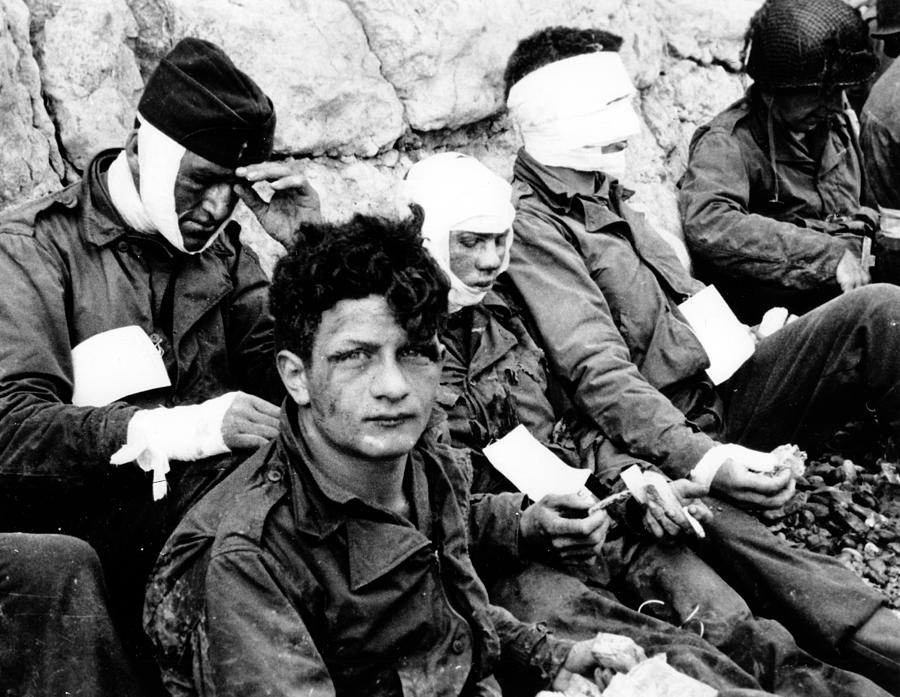 American Assault Troops Normandy Photograph