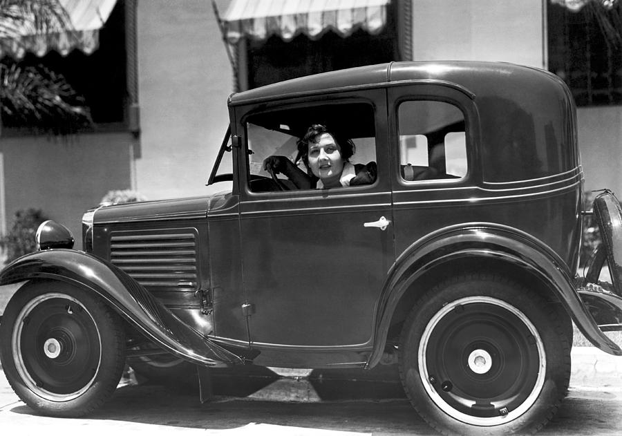 American Austin Coupe Photograph by Underwood Archives