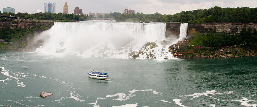 3scape Photograph - American Falls by Adam Romanowicz