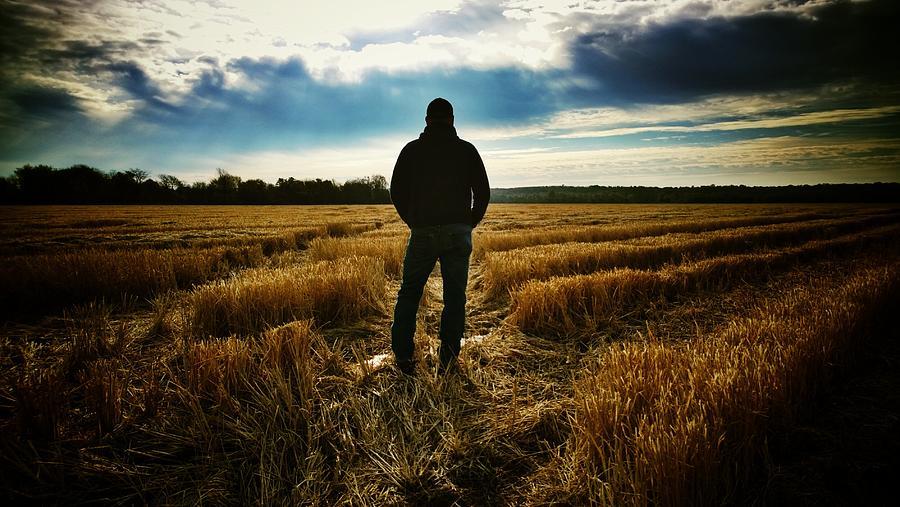 Farmer Photograph - American Farmer by Tommy Wallace
